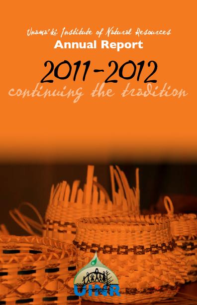 UINR 2011/2012 Annual Report