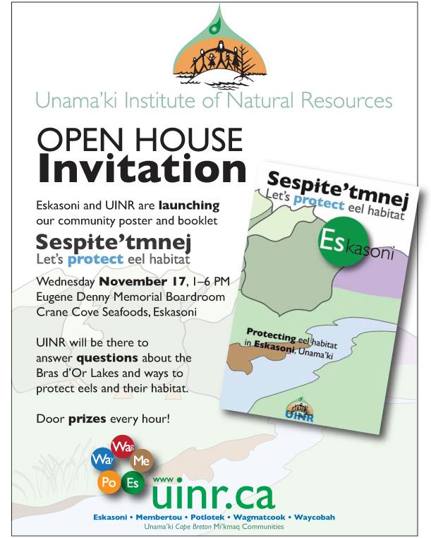Sespite'tmnej-Let's protect eel habitat RELEASE
