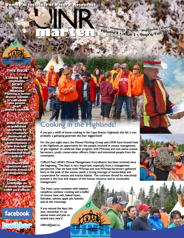 UINR Marten – Fall 2012