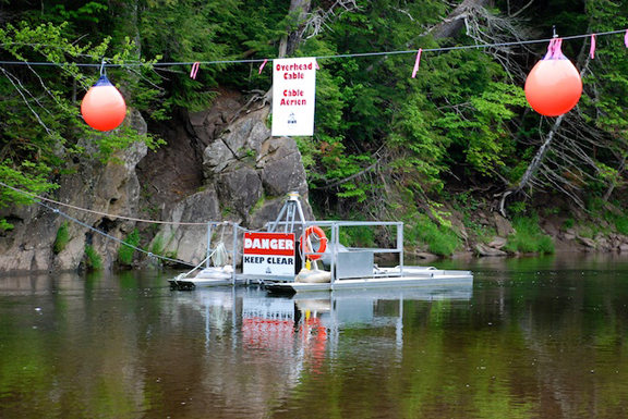 UINR's smolt wheel is back in Middle River