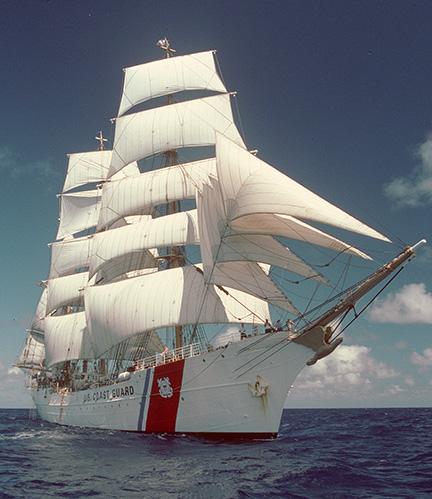 The Oyster Garden: Tall ship The Eagle visits Eskasoni