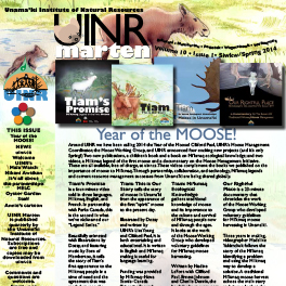 New issue of UINR MARTEN now available