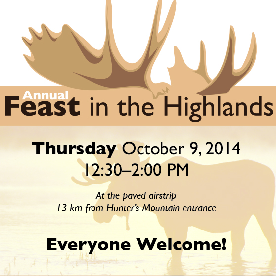 Come for the feast (and exchange your lead bullets)