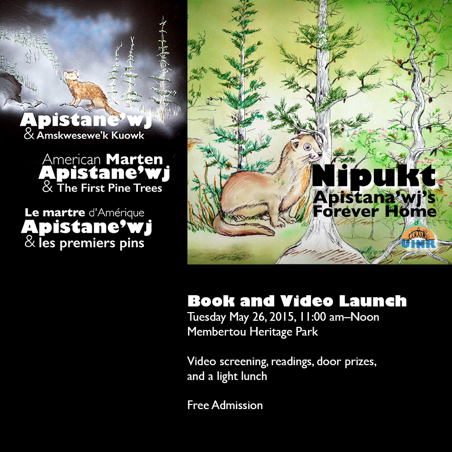 New Book and Video on Marten and the Forest