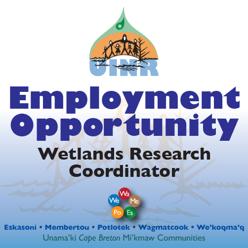 Employment Opportunity: Wetlands Research Coordinator