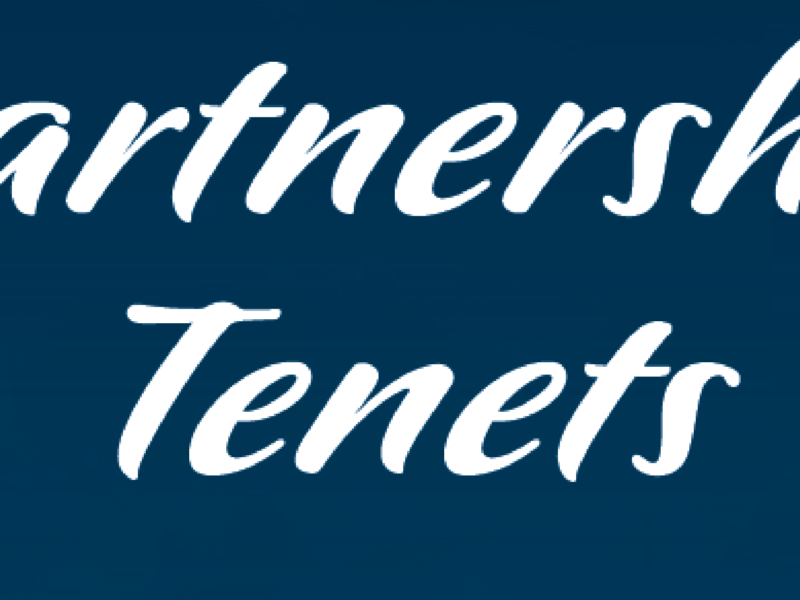 UINR Partnership Tenets