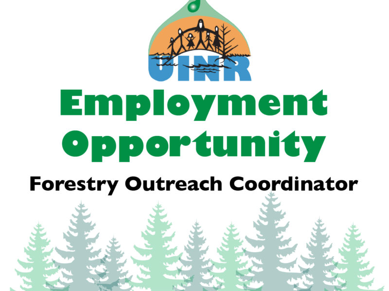 Job Opportunity: Forestry Outreach Coordinator